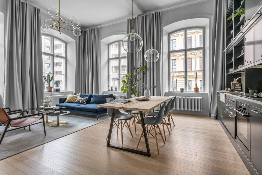 Apartment in Stockholm by Balthaz Interior