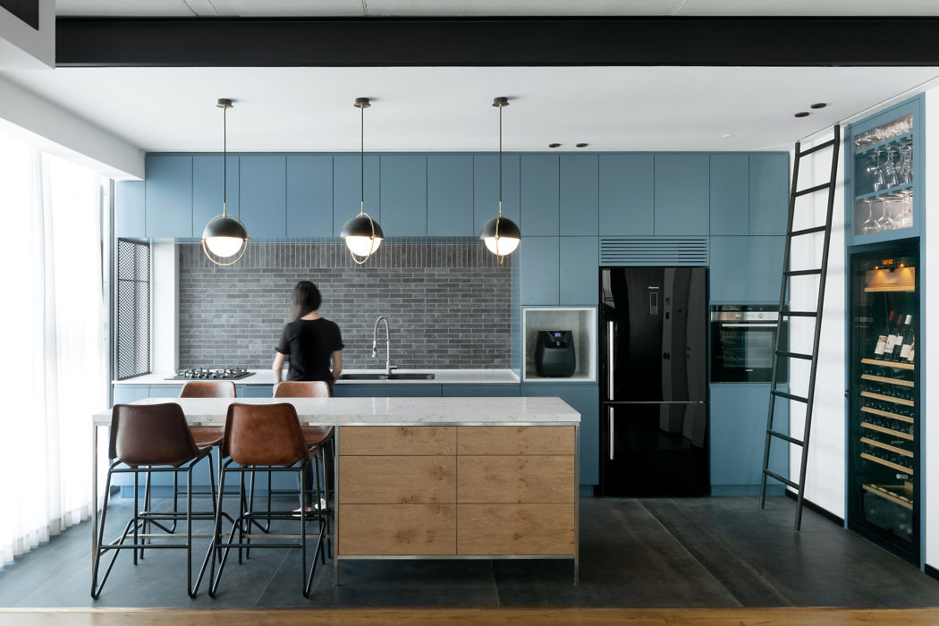 Tower Apartment by Rust Architects