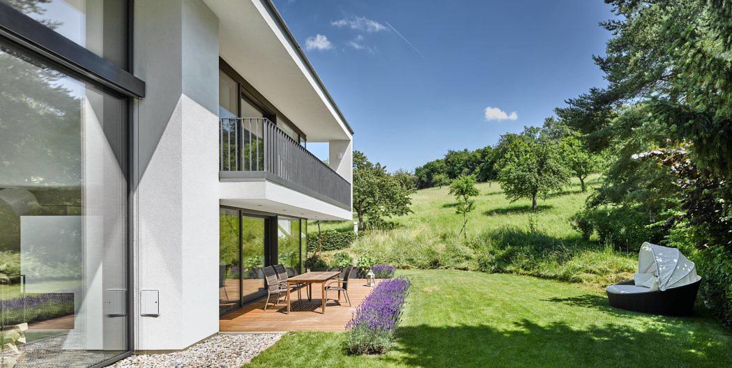 Architekt Bruchsal modern house by dettling architekten homeadore