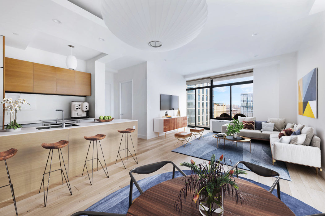 Downtown Brooklyn Condo by Bolster