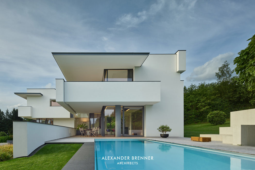 House in Wiesbaden by Alexander Brenner Architects
