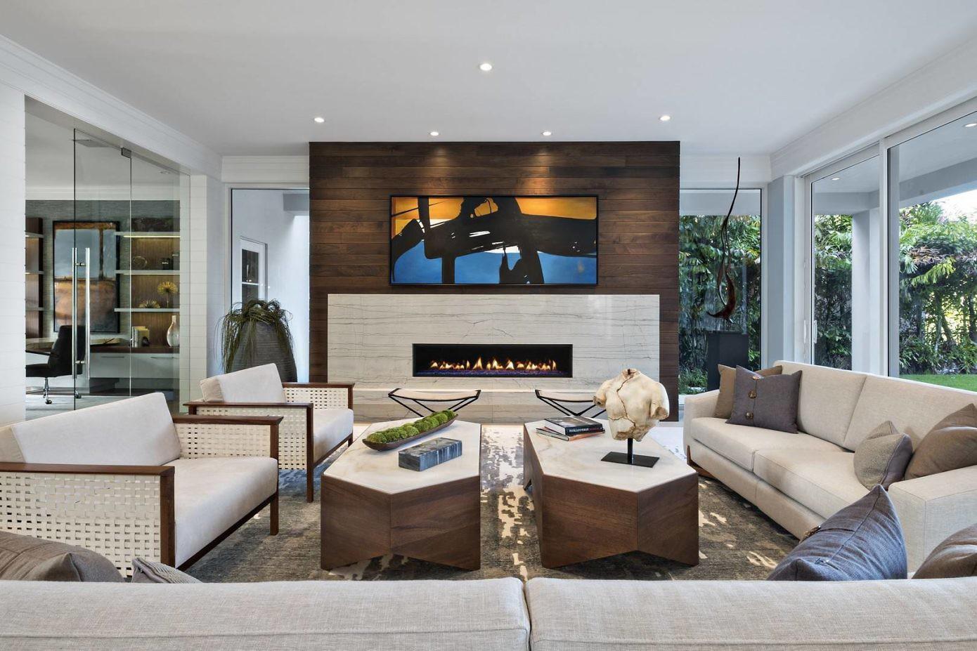 captivating contemporary coastal interior design | Coastal Contemporary by The Decorators Unlimited | HomeAdore