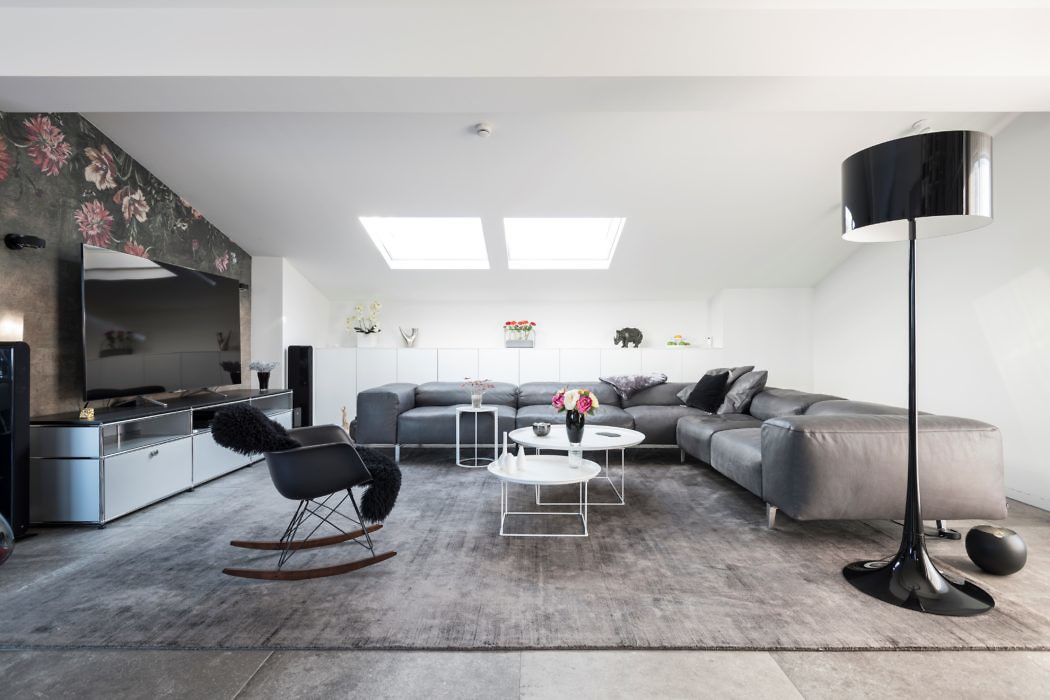 Penthouse in Nuremberg by Designfunktion Nürnberg