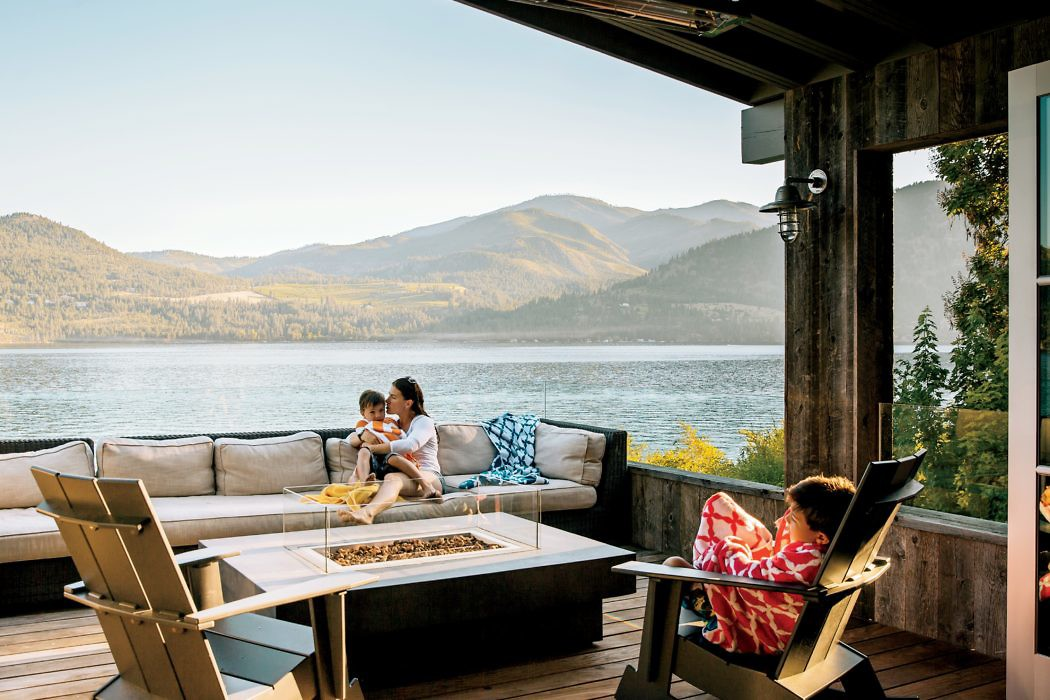 Lake Chelan Hideaway by Hoedemaker Pfeiffer