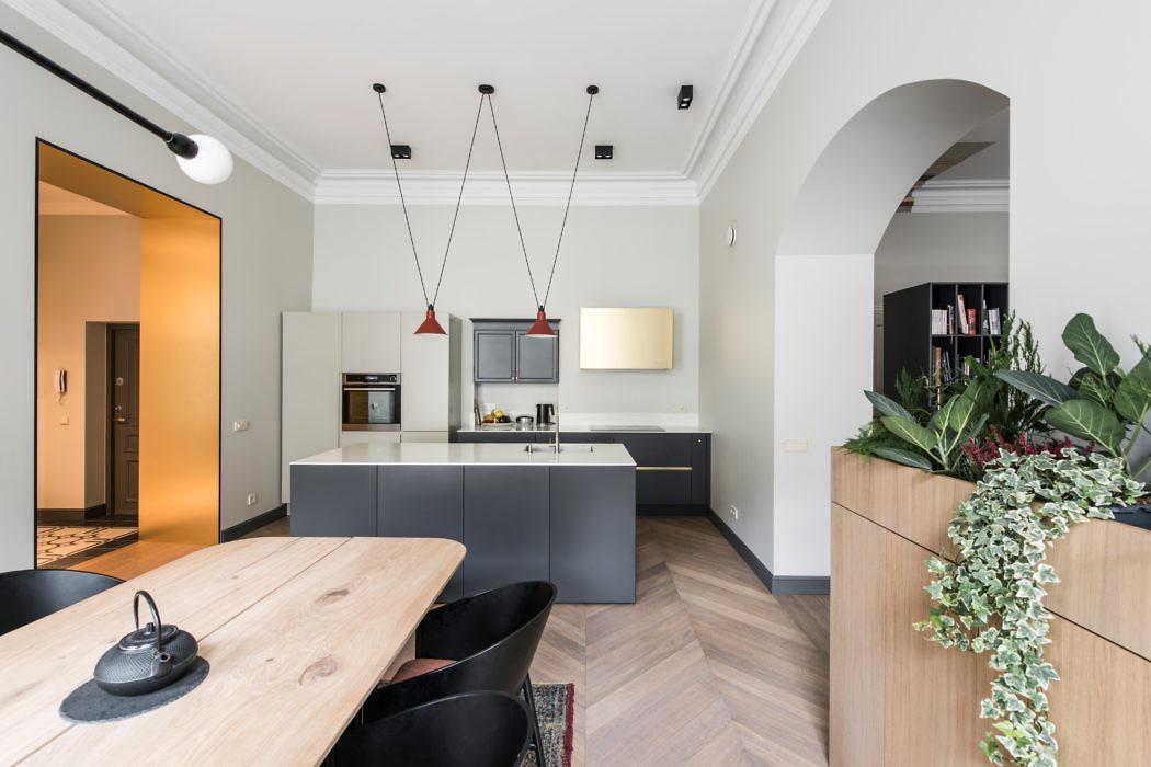 Apartment in Vilnius by Kristina Lastauskaitė-Pundė