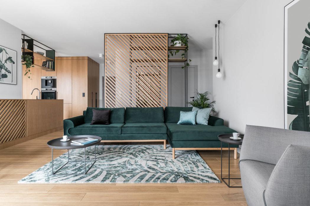 Beniowskiego Apartment by Raca Architekci