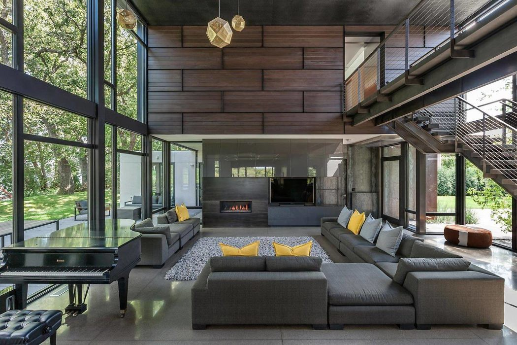 Lake Waconia House by ALTUS Architecture + Design
