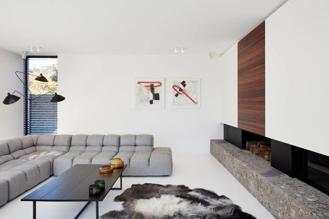Residence in Knokke-Heist by Luc de Beir