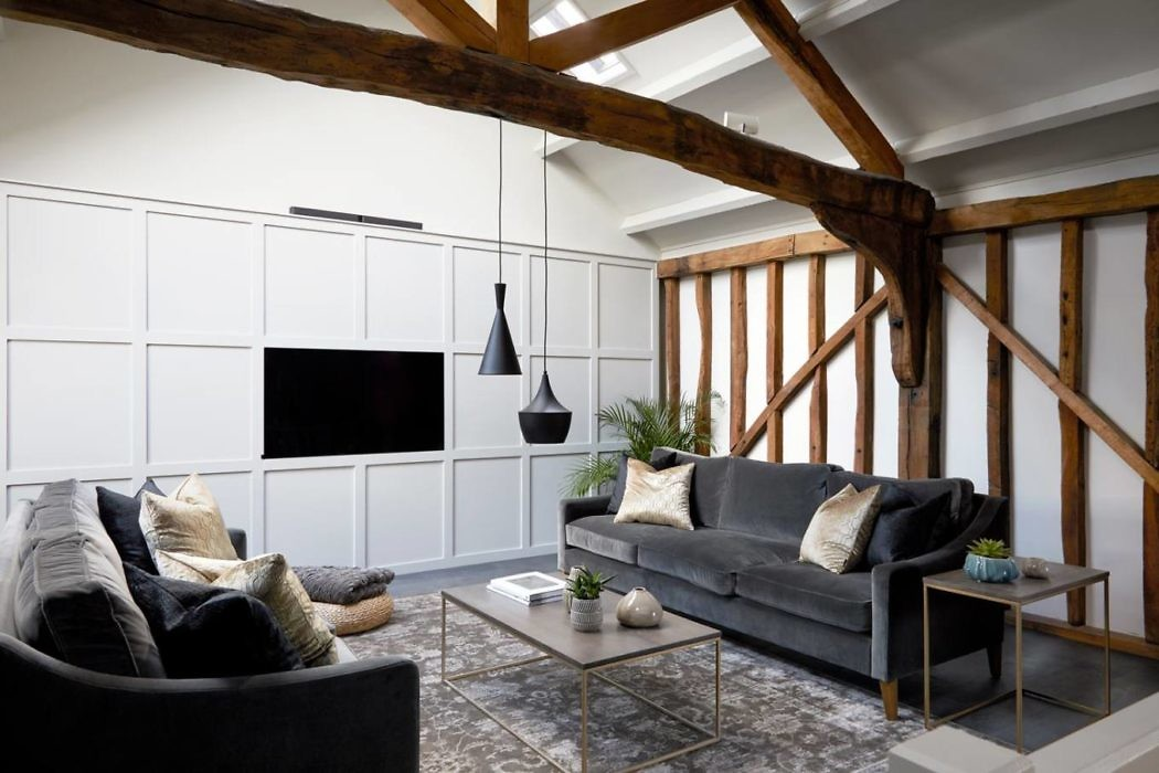 Barn Conversion by Fiona Duke Interiors