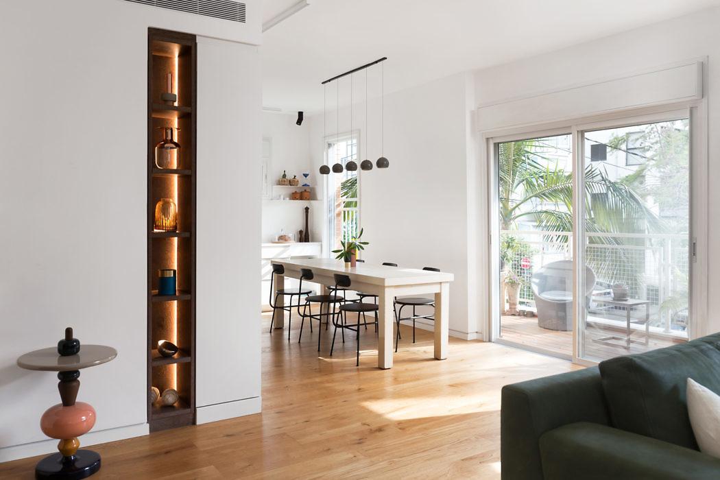 Apartment in Tel-Aviv by Bronstein Bracha Architecture & Design