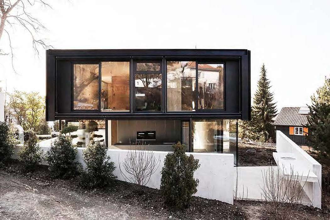 House in Riehen by Reuter Raeber