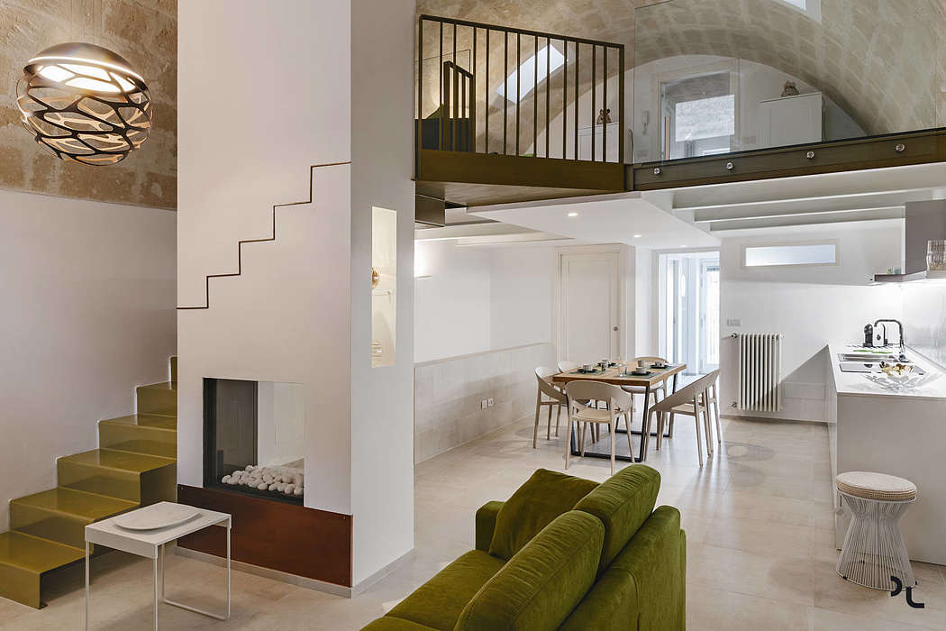 Apartment in Matera by Lomo Architecture