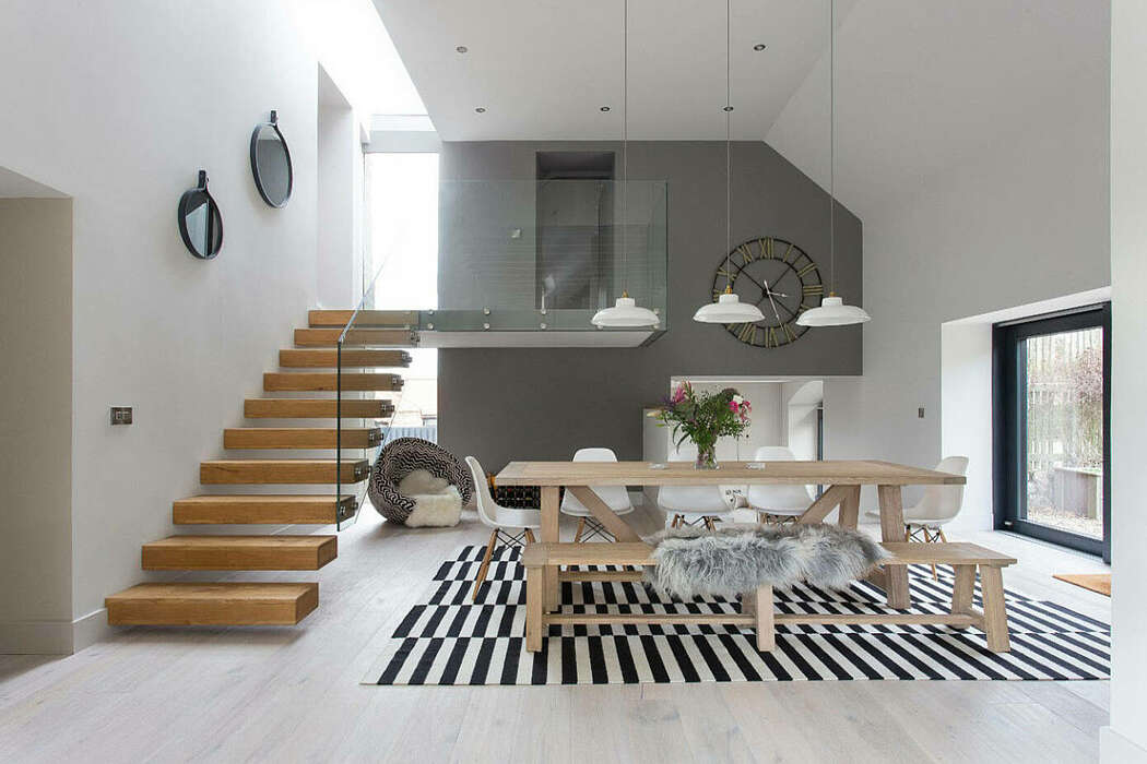 Williamstone Farmhouse by Hen & Crask Edinburgh