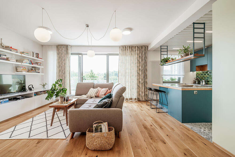 Apartment in Wrocław by Marmur Studio