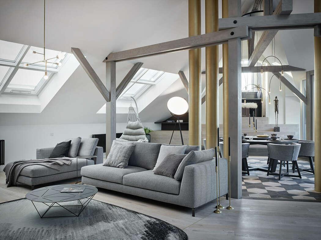 Kolkovna Apartment by Oooox
