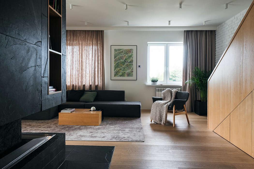 Apartment K160 by Line Design Studio