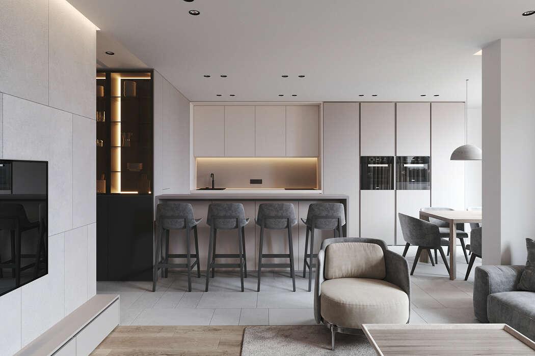 Apartment in Kiev by Ruslan Kovalchuk