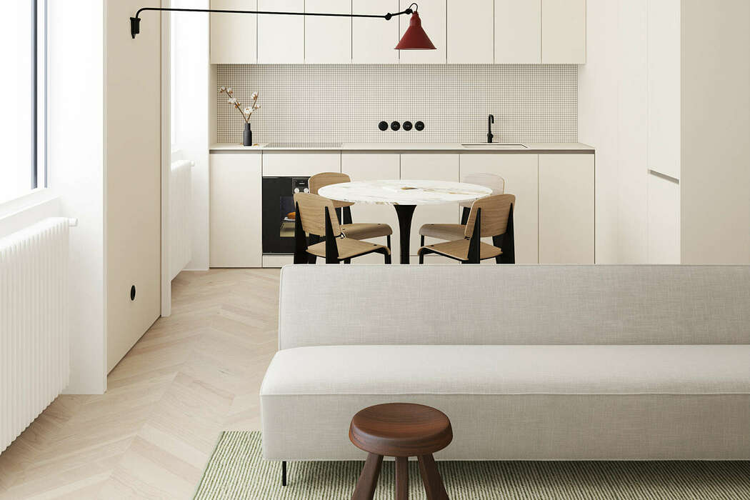 Apartment in Copenhagen by Emil Dervish