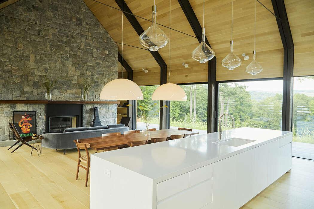 House in Silvernails by Amalgam Studio