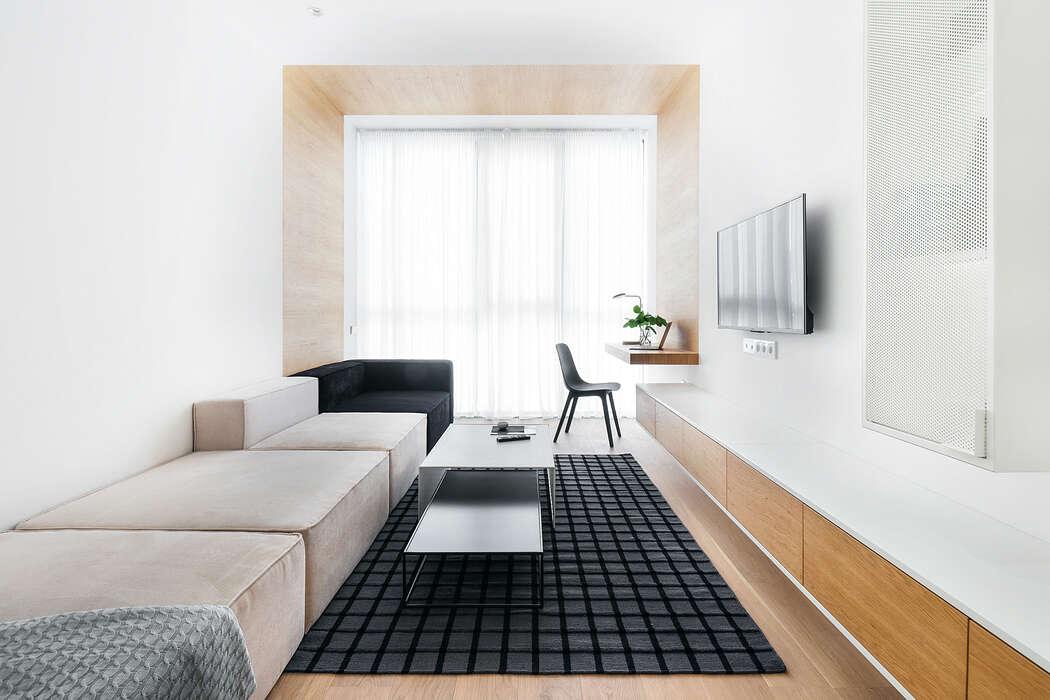 Apartment in Svetlogorsk by Line Design Studio