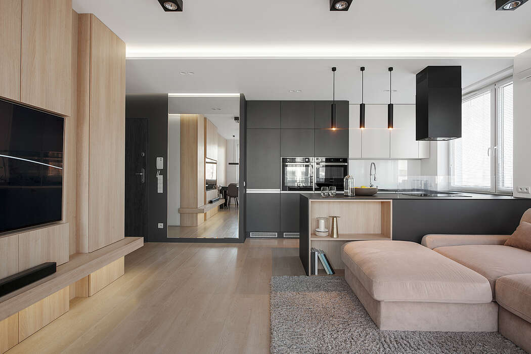Modern Apartment by Hi-Light Architects