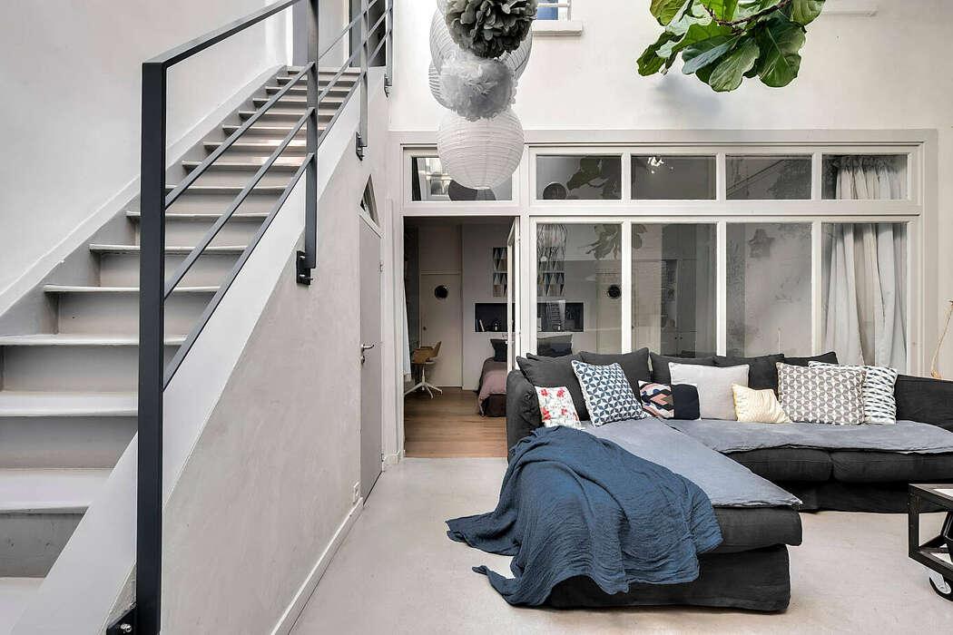 Loft in Paris by Murs et Merveilles
