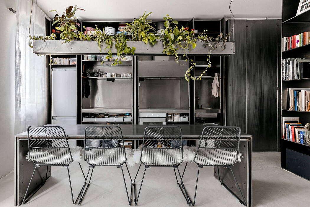 Zero-Room Apartment by MÁS epiteszek