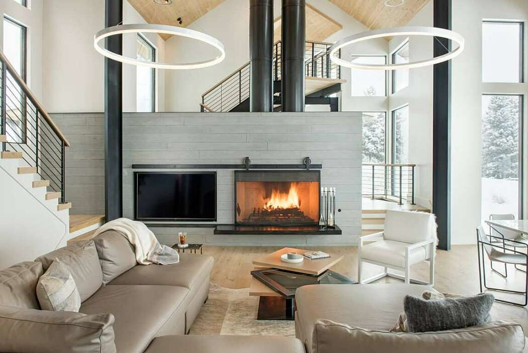Bridger Canyon Residence by Faure Halvorsen Architects - 1