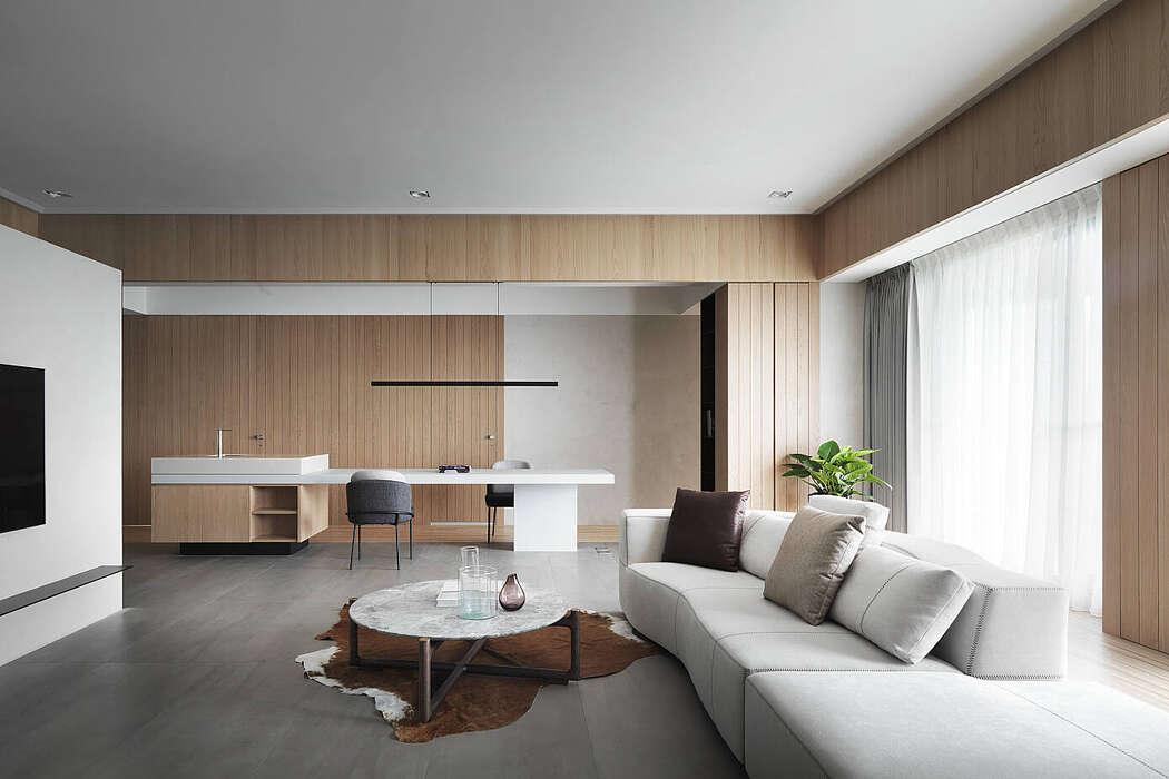 Apartment in Taipei by C.H. Interior Design