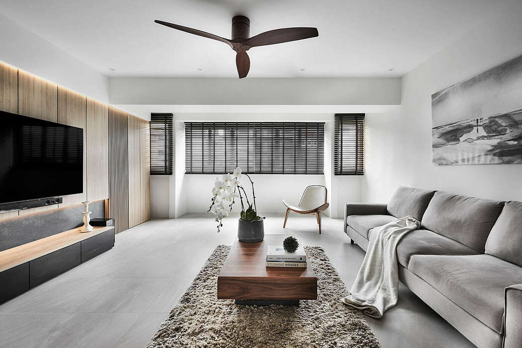 Apartment in Singapore by Icon Interior Design