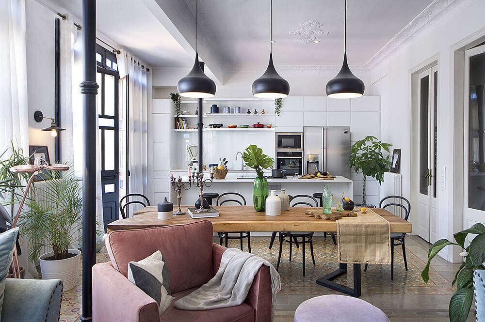 Home in Barcelona by Egue Y Seta