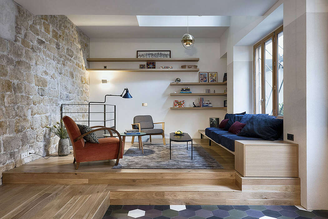 House in Paris by Alia Bengana Architect