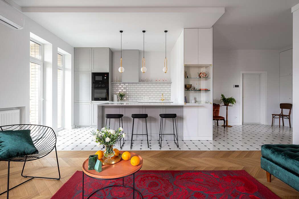 Apartment in Kiev by MalyKrasota Design