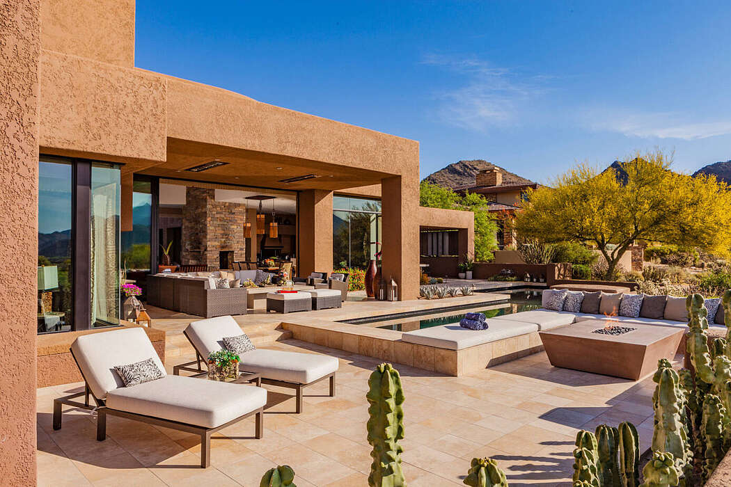 House in North Scottsdale by PHX Architecture