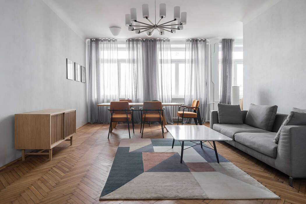 Apartment in Warsaw by Loft Kolasiński