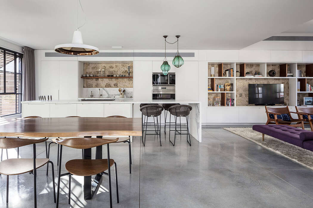 The Charm Townhouse by MGA | Meirav Galan Architect