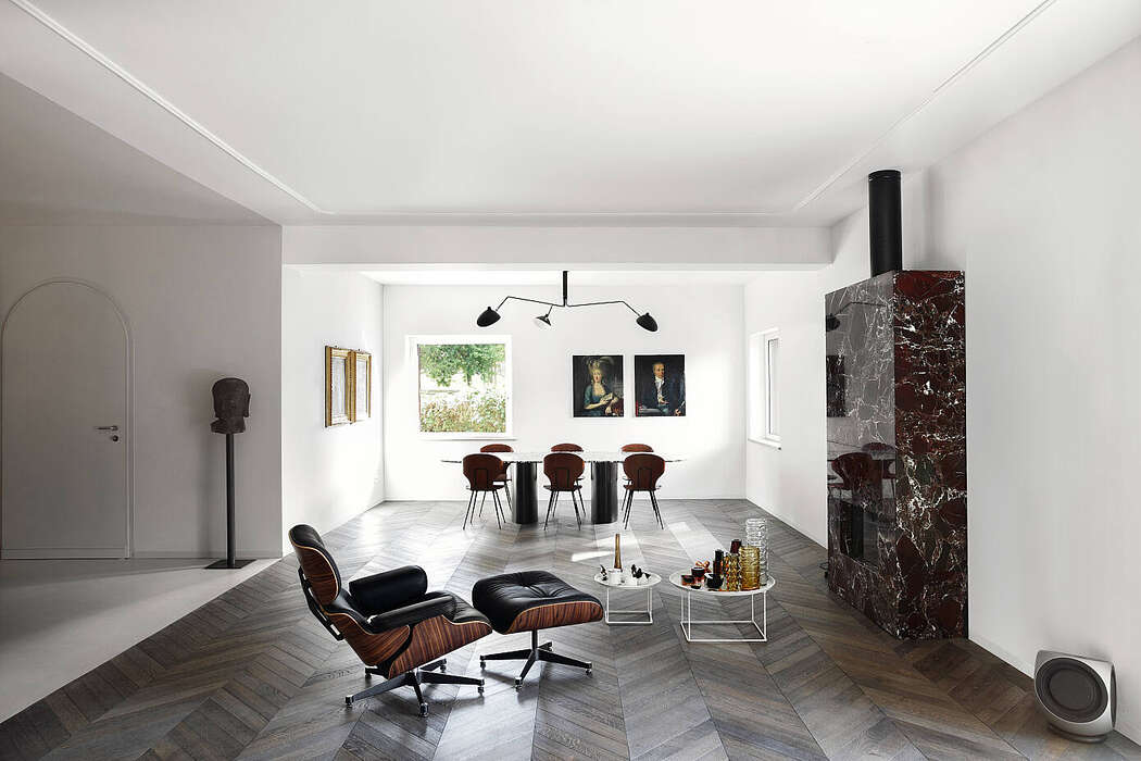 Villa Appia Antica by MGK Architects