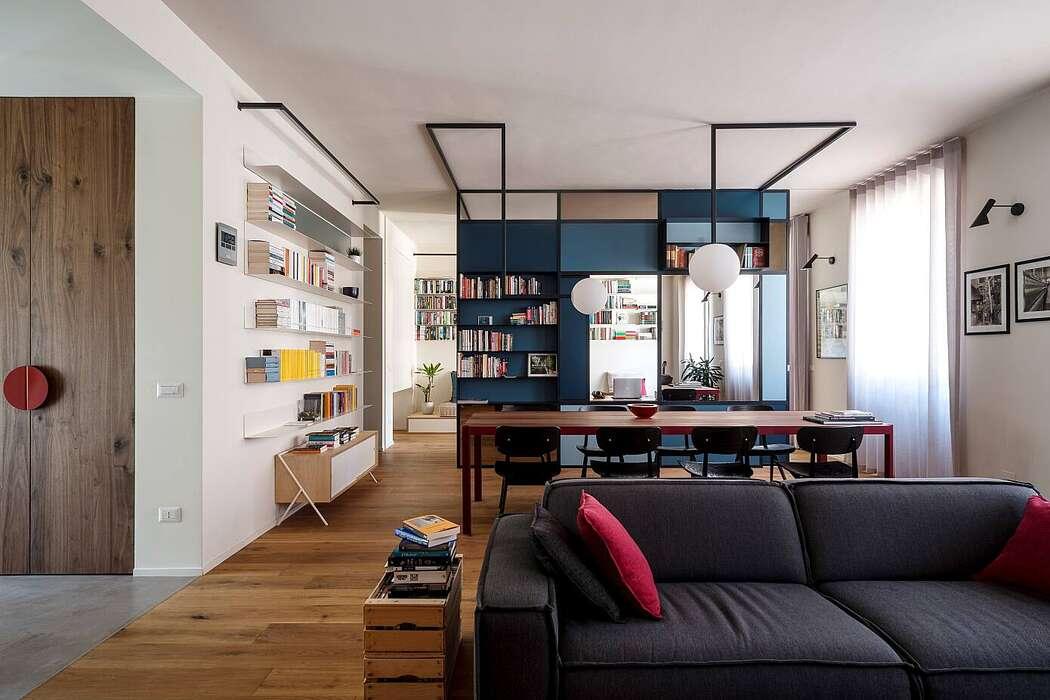Apartment in Turin by Studio Doppio