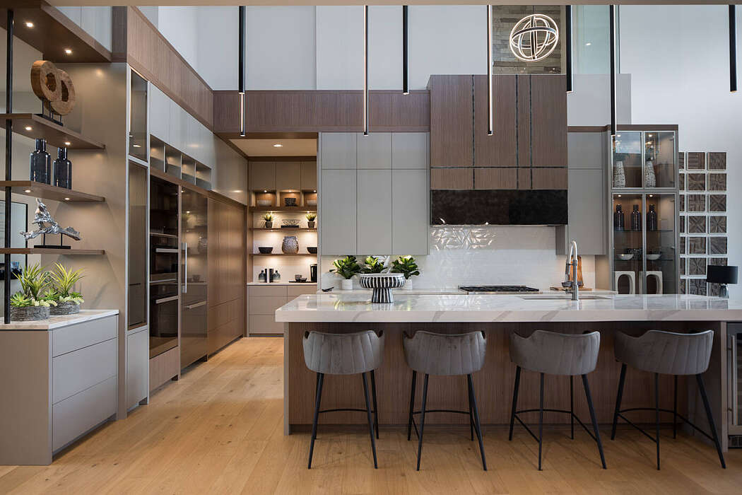 Contemporary Residence by Rochelle Cote Interior Design