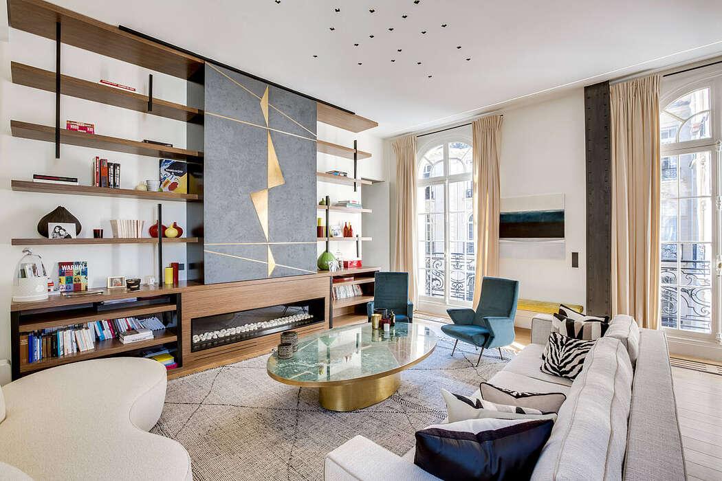 Apartment in Paris by Intérieurs Chomet