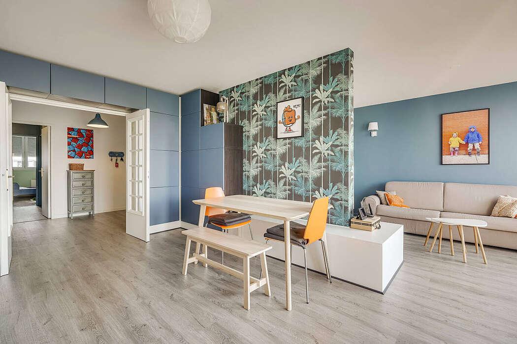 Apartment in Villeurbanne by MOKA