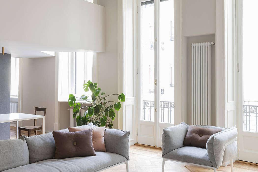 Porta Venezia Apartment by Studio Wok