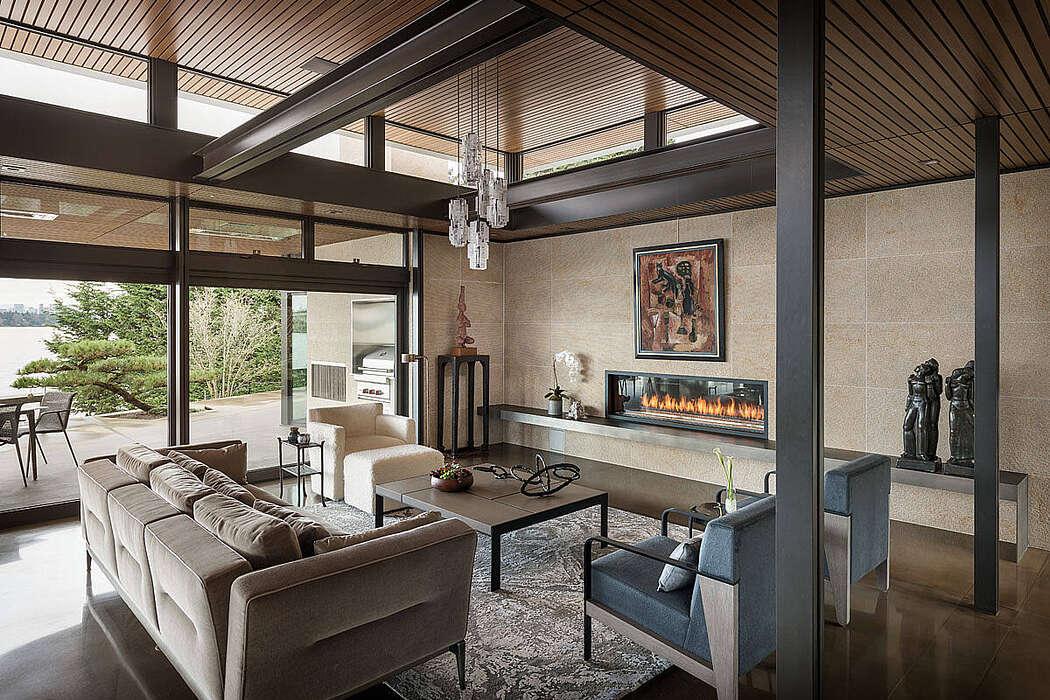 Hidden Cove Residence by Stuart Silk