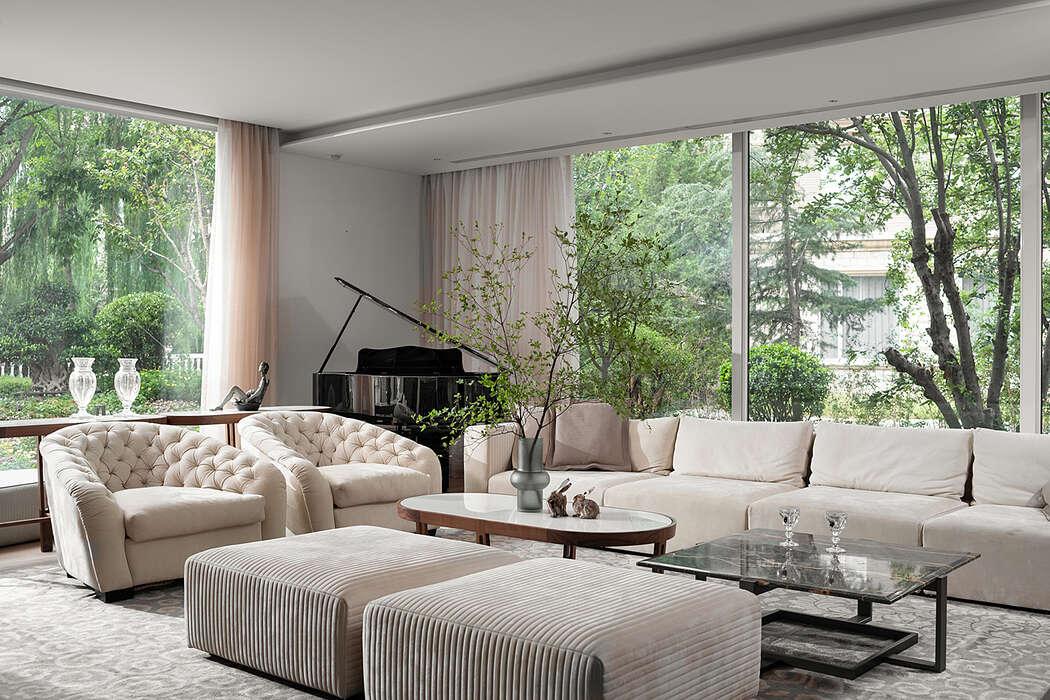 Beijing Dahu Villa by AFFD