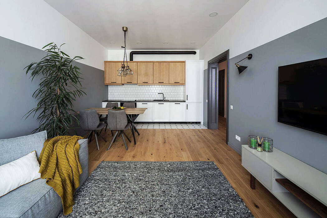 Apartment 14 by Dolgopiatova Design