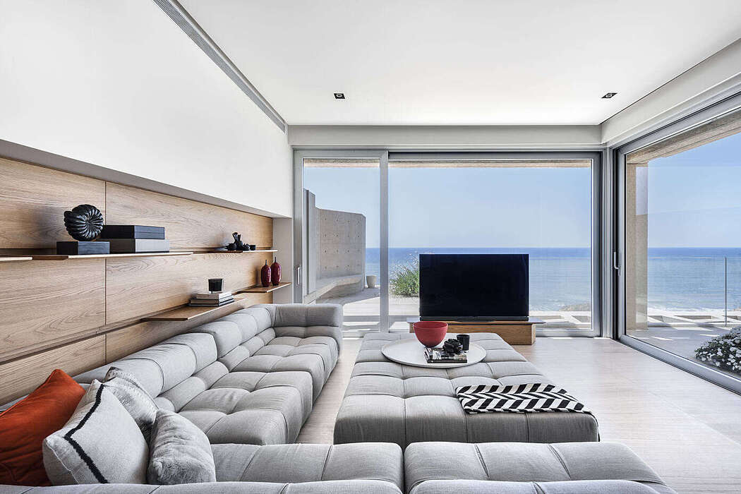 Sea View Apartment by Studio Hazak