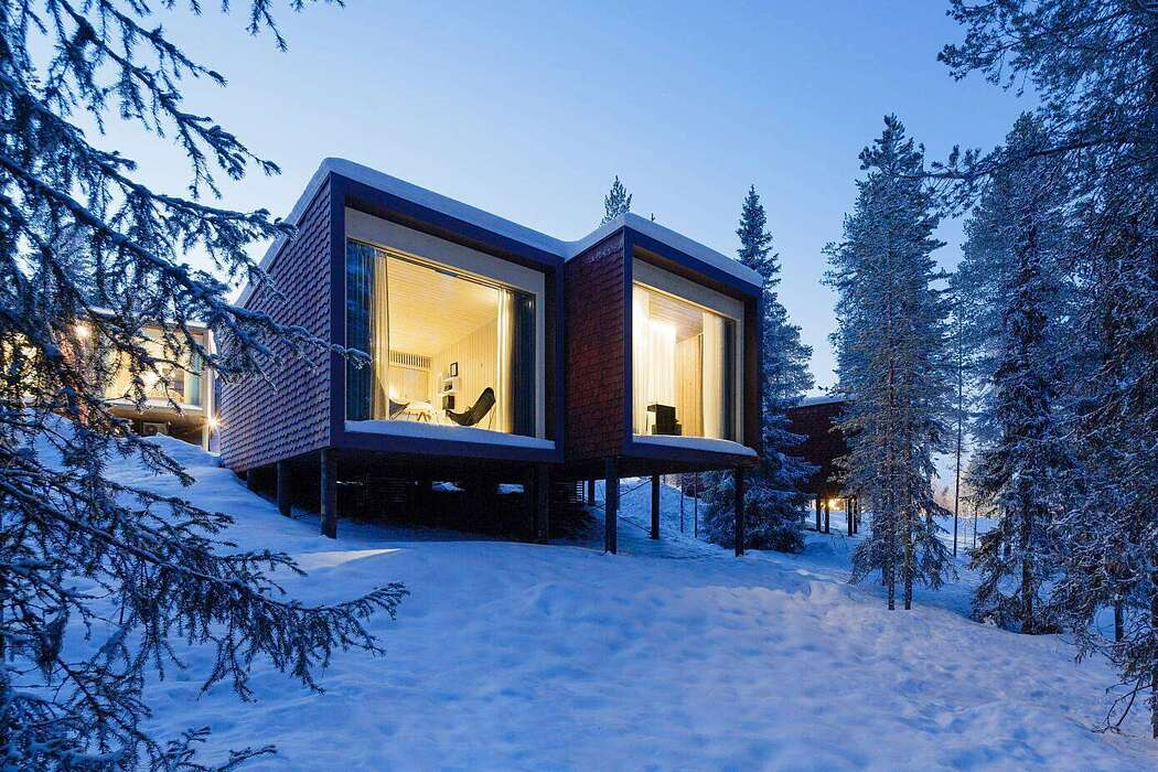 Arctic Treehouse Hotel by Studio Puisto Architects - 1