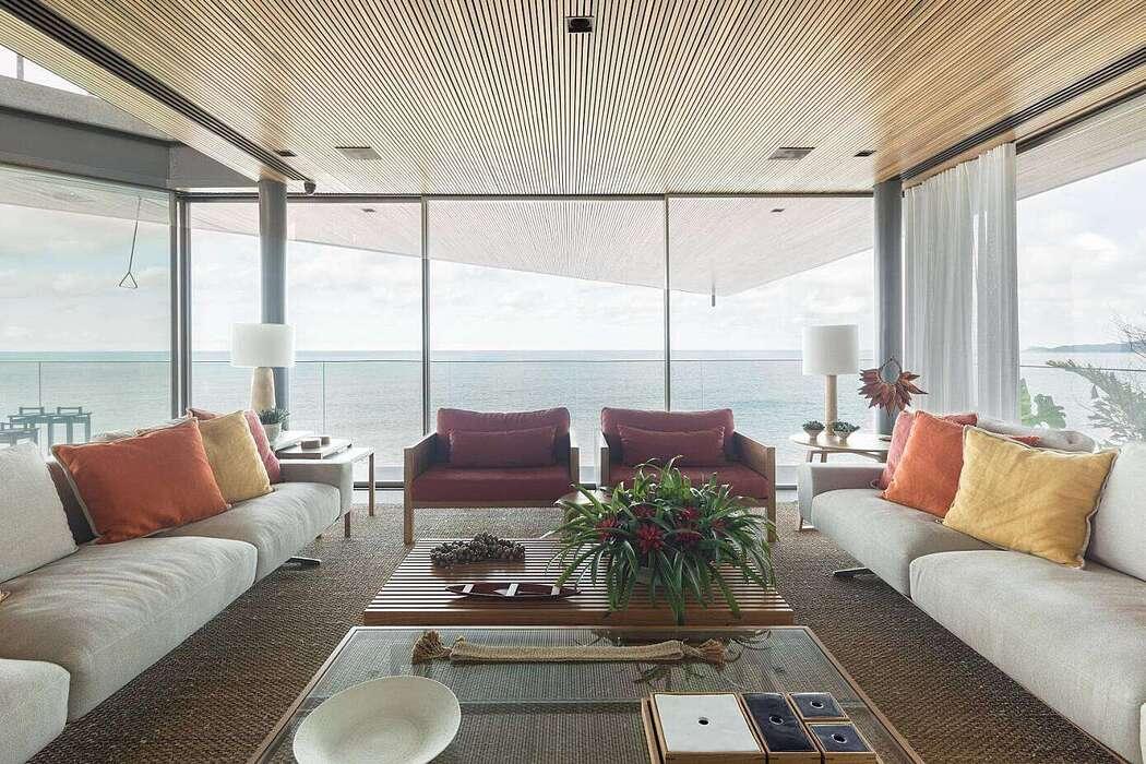 Peninsula House by Bernardes Arquitetura