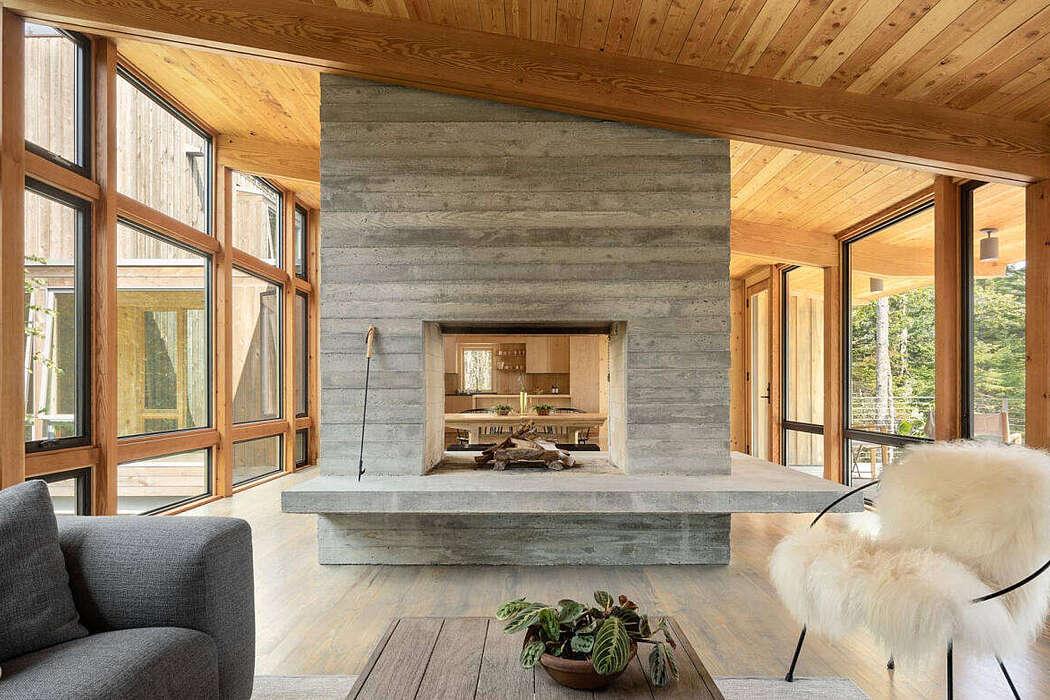 Englishman Bay Retreat by Whitten Architects