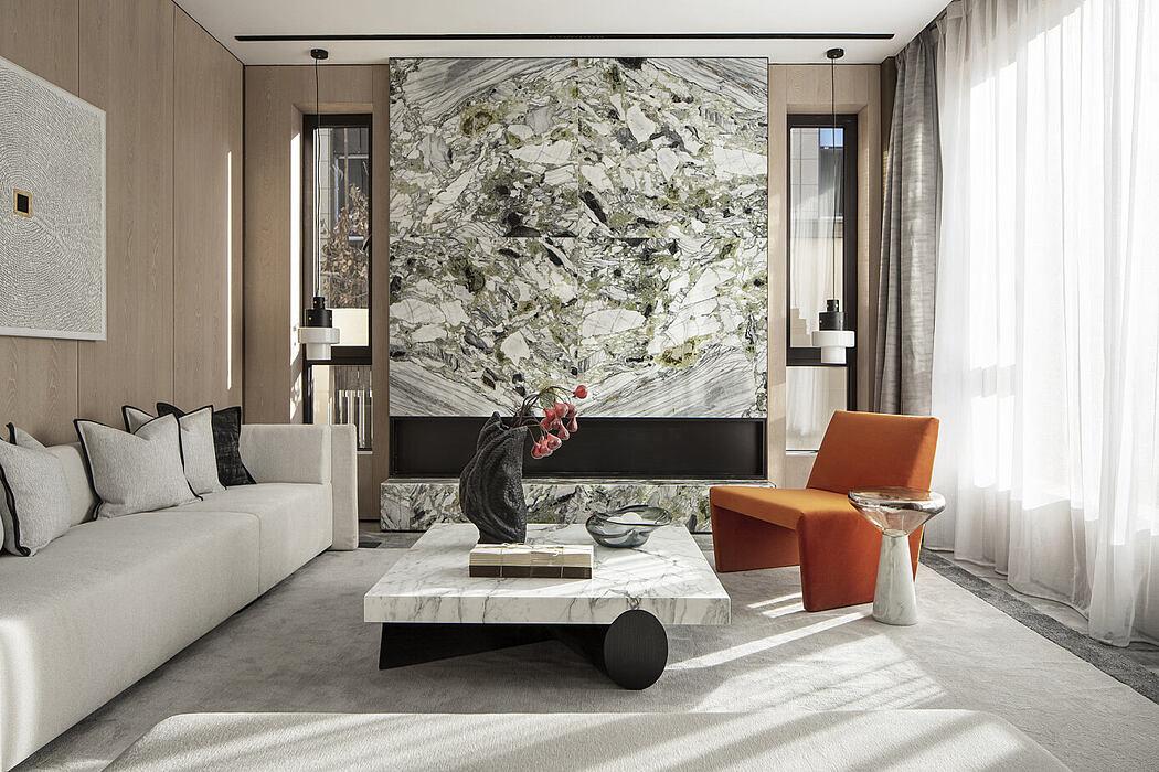 Glory Mansion by One-Cu Interior Design Lab